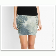 Mini Skirt - Ragusa /Graphite Mist