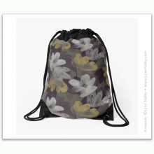 Drawstring Bag - Marisol /Armadillo Gray