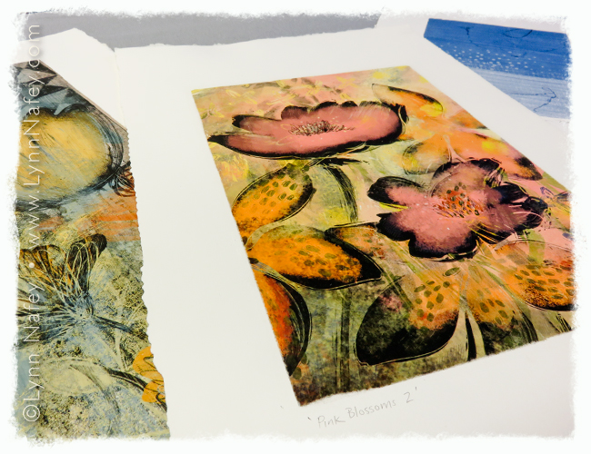 Assorted Pigment Transfer Prints By Lynn Nafey