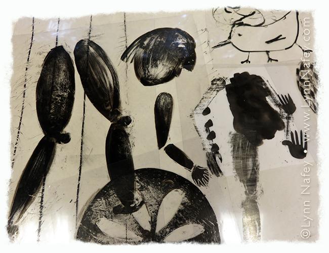 Lynn Nafey's ink drawings