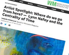 Lynn Nafey featured in Worcester Magazine Artist Spotlight