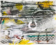 Lynn Nafey - Where Do We Go From Here? - Mixed Media Artwork