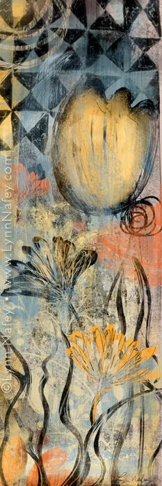 Wild Hope - Floral Art Print By Lynn Nafey